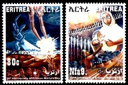 (013) Eritrea  Martyrs / Märtyrer / 2011 ** / Mnh  Michel  344-45 - Eritrea
