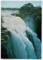 RHODESIA    THE  VICTORIA  FALLS  HOTEL    DEVIL'S CATARACT VICTORIA FALLS     2 SCAN   (VIAGGIATA) - Zimbabwe