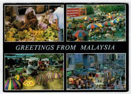 MARKET  OF  MALAYSIA        2 SCAN   (VIAGGIATA) - Malesia