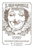 [MD1041] CPM - IN RILIEVO - BUSSETO (PARMA) - IL GRAN CARNEVALE - GRANDIOSI CORSI MASCHERATI - BERTOLETTI - NV 1989 - Parma