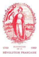 [MD1043] CPM - IN RILIEVO - BICENTENARIO DELLA RIVOLUZIONE FRANCESE - BERTOLETTI - NV 1989 - Cartoline