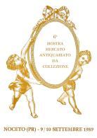 [MD1044] CPM - IN RILIEVO - NOCETO (PARMA) - 6° MOSTRA MERCATO ANTIQUARIATO DA COLLEZIONE - BERTOLETTI - NV 1989 - Parma