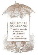 [MD1045] CPM - IN RILIEVO - NOCETO (PARMA) - SETTEMBRE NOCETANO - 4° MOSTRA MERCATO DA COLLEZIONE - BERTOLETTI - NV 1987 - Parma