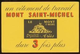 Buvard - Vetements De Travail - SAINT MICHEL - Buvards, Protège-cahiers Illustrés
