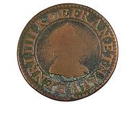 Double Tournois - Henri IIII - 1609 A - 2,91 Gr. - Cuivre - TB - - 987-1789 Monnaies Royales