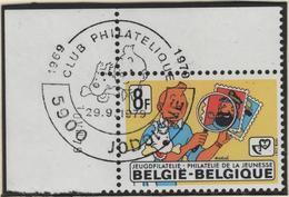 BELGIQUE 1939 1er Jour FDC TINTIN Kuifje HERGE Jodoigne 1979 En Coin De Feuille - Comics