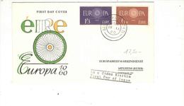 Irlanda 1960 FDC Cept.Europa Viaggiata  See Scan - FDC