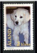Aland 2001 2K Puppy Issue #191  MNH - Aland