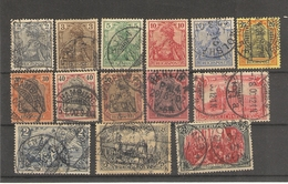 Allemagne - Empire -   Reichspost (1900 ) Série N°51 /64 - Used Stamps