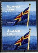 Aland 2004 1K Flag Issue #222  MNH  Pair - Aland