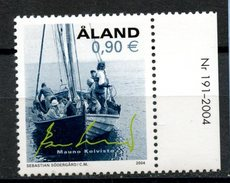 Aland 2004 90c Sailboat Issue #223  MNH - Aland