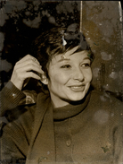 PHOTO - Photo De Presse - ZIZI JEANMAIRE - Danseuse - 1962 - Célébrités