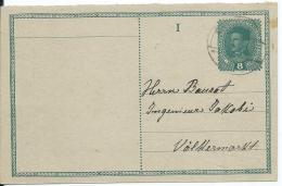 AK 0664  Ganzsache ( Kaiserl- Post 8 Heller ) Von Krumpendorf Nach Völkermarkt Um 1918 - Ganzsachen