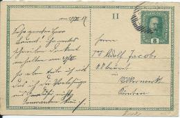 AK 0664  Ganzsache ( Kaiserl- Post 8 Heller )  Nach Völkermarkt Um 1917 - Ganzsachen
