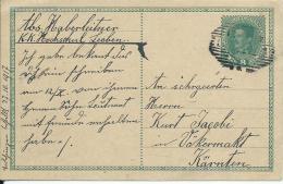 AK 0664  Ganzsache ( Kaiserl- Post 8 Heller )  Von Leoben Nach Völkermarkt Um 1917 - Ganzsachen