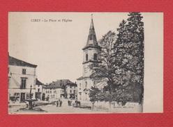 Cirey  --  La Place Et L Eglise - Cirey Sur Vezouze