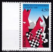 1996, Andorra, Fr., 498, Schach.  MNH **, - Frans-Andorra