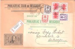 Lettre Recommandée Avec Timbres 868,869,870 Et 871 De Ixelles à Antwerpen. - Lettres & Documents