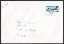 Chile: Airmail Cover To Netherlands, 1998, 1 Stamp, Antarctic Institute, Antarctica (traces Of Use) - Chili