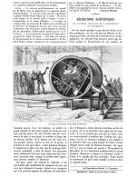 LES RECREATIONS SCIENTIFIQUES ( LE TONNEAU ROULANT DE L'EXPOSITION De BRUXELLES )   1888 - Belgium