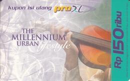 INDONESIA - The Millennium Urban Lifestyle Violin, Exp.Date 12/01, Used