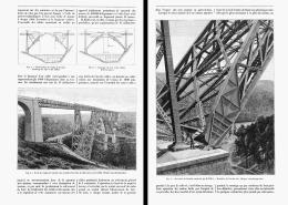 LE VIADUC De GABARIT   1888 - Auvergne