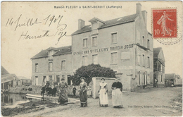 Yvelines : Auffargis, Maison Fleury A St Benoit, Belle Animation - Auffargis