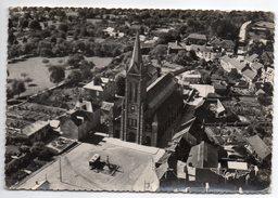 LE TEILLEUL--1957--Vue Aérienne,France Vue Du Ciel--L'église Et Vue D'ensemble,cpsm 15 X 10 N° 3 éd Artaud--Beau Cachet - Altri Comuni