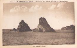 LA SEYNE SUR MER ROCHERS DES DEUX FRERES AUX SABLETTES - La Seyne-sur-Mer