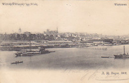 Warszawa - Widok Na Wisle - 1904     (A36-151224) - Polonia