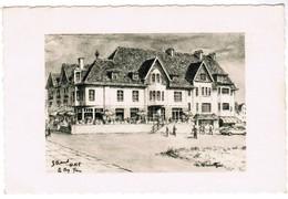 De Haan, Coq Sur Mer, Den Haan, Strand Hotel (pk32902) - De Haan
