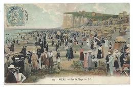 CPA - MERS, SUR LA PLAGE - Somme, 80 - Animée, Circulé 1905 - Mers Les Bains