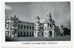 INDIA : VARANASI - SANSKRIT COLLEGE, B. H. U. - India