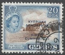 Cyprus. 1960-61 Republic Overprint. 20m Used. SG 193 - Cyprus (Republic)