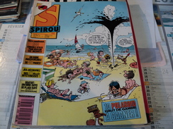 SPIROU N°2567 DU 23 JUIN 1987.  GLEM / CAUVIN / LE SCRAMEUSTACHE / GERRIT DE JAGER / - Spirou Magazine