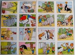 16 IMAGES BONS-POINTS ROUDOUDOU ET RIQUIQUI LES GAIES IMAGES-PLAQUE NON DECOUPEE - Collezioni