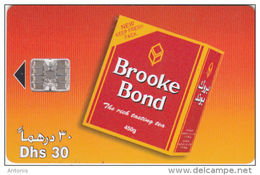 U.A.E.(chip) - Brooke Bond Tea, Used