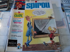 SPIROU N°1899 DU 5 SEPTEMBRE 1974. 1° PLAT DE DEVOS GASTON LAGAFFE / - Spirou Magazine