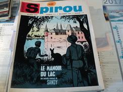SPIROU N°1530 DU 10 AOUT 1967. 1° PLAT DE WILLY LAMBIL GASTON LAGAFFE / WILL / ROSY - Spirou Magazine
