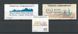 Turquie: Nouveautés 2016 ** - Nuevos
