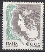 """2712 Italia 2002  """"La Donna Nell ´ Arte : Velia Spurinna"""" - Affresco Della Tomba Dell ´ Orco. Paintings (IPZS SpA Roma) - Non Classificati"""