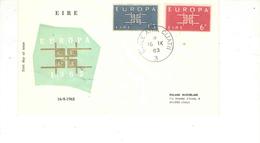 Irlanda 1963 FDC Cept.Europa Viaggiata  See Scan - FDC