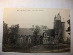 Carte Postale Blain (44) Le Vieux Chateau (CPA  Circulée 1916 ) - Blain