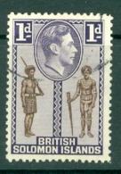 British Solomon Is: 1939/51   KGVI    SG61   1d      Used - British Solomon Islands (...-1978)