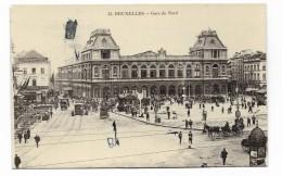 BRUXELLES - GARE DU NORD   VIAGGIATA FP - Transport (rail) - Stations