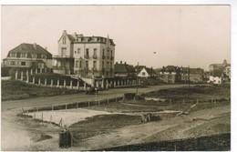 De Haan, Coq Sur Mer, Den Haan, Zeldzame Fotokaart, Panoramisch Zicht Met Oldtimer (pk32916) - De Haan