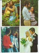 Couples 4 Scenes.fashion, Vogue, Style.Printed In Minerva Subotica Yugoslavia.lot - Couples