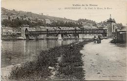 Ardennes MONTHERME Le Pont  La Meuse La Rowa - Montherme