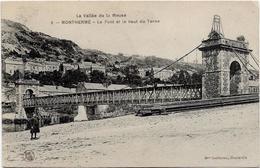 Ardennes MONTHERME Le Pont Et Le Haut Du Terne - Montherme