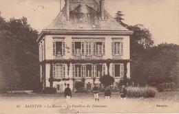 17 / 4 / 293  -   SAINTES  ( 17 )  -  LE  HARAS  -  LE  PAVILLON DU  DIRECTEUR - Saintes